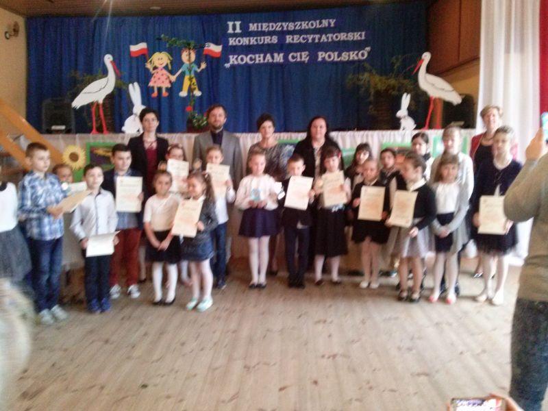 Ii Międzyszkolny Konkurs Recytatorski Kocham Cię Polsko